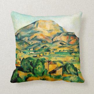 Cezanne Mont Sainte-Victoire Pillow