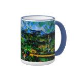 Cezanne - Mont Sainte Victoire Ringer Coffee Mug