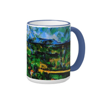 Cezanne - Mont Sainte Victoire Ringer Mug