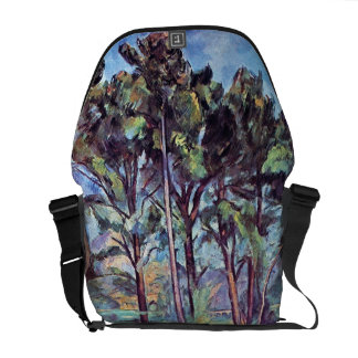 Cezanne - Pines And Aqueduct Messenger Bag