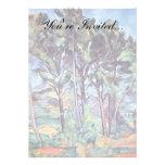 Cezanne - pinos y acueducto comunicados personales