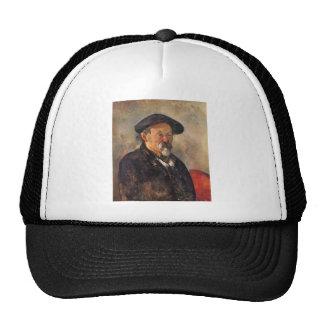 Cezanne - Self portrait with Barett Trucker Hat