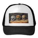 Cézanne Skull Triplet Mesh Hats