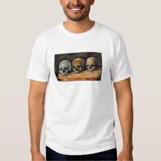Cézanne Skull Triplet Shirt