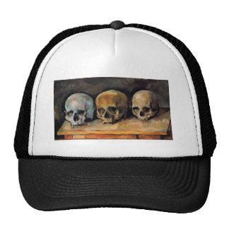 Cézanne Skull Triplet Trucker Hat