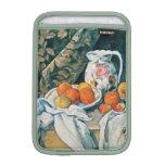 Cezanne Still Life Curtain,Flowered Pitcher,Fruit iPad Mini Sleeve