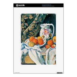 Cezanne Still Life Curtain,Flowered Pitcher,Fruit Kindle Skin