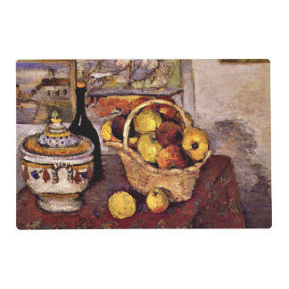 Cezanne - Still Life with Soup Tureen Laminated Placemat