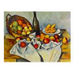 Cezanne The Basket of Apples Postcard
