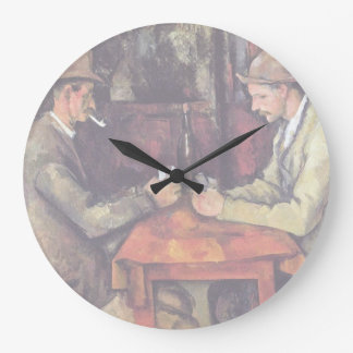 Cezanne - The Card Players Wall Clock