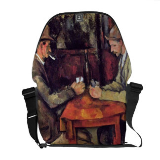 Cezanne - The Card Players Courier Bag