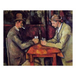 Cezanne - The Card Players Poster