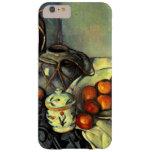 Cezanne - todavía vida con las manzanas funda para iPhone 6 plus barely there