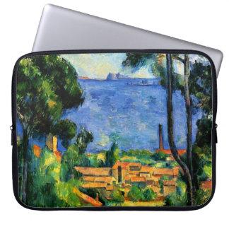 Cezanne - View of l'Estaque Computer Sleeve