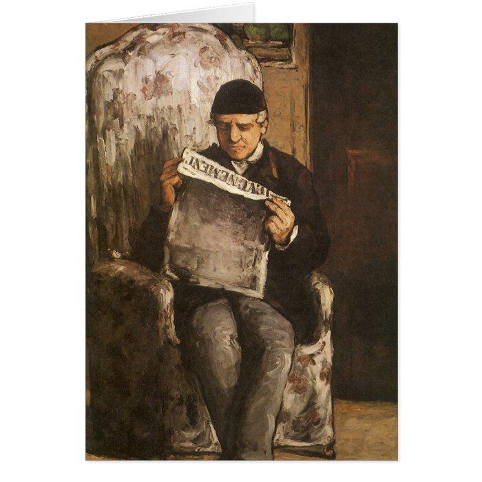 Cézanne's Artist's Father Card