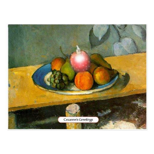 Cezanne's Greetings Postcards
