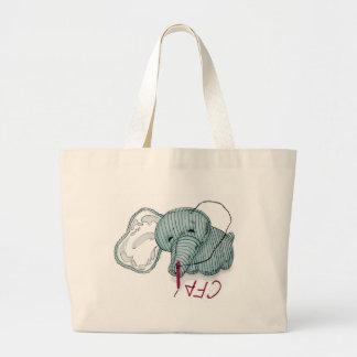 CF4L Hellephant Canvas Bags