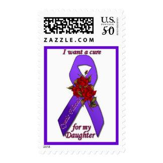 CF Awareness Stamp for daughter