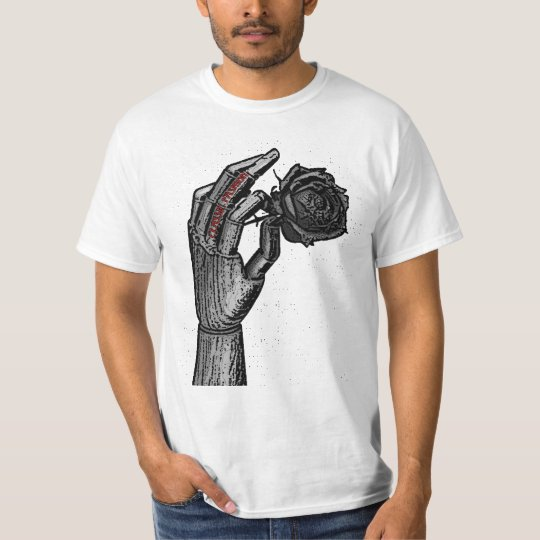 CF black rose t-shirt
