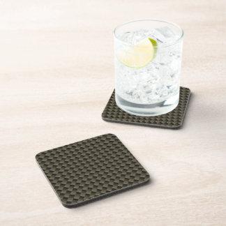 CF Carbonfiber Textured Coaster