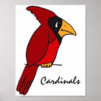 CF- Cardinals Poster