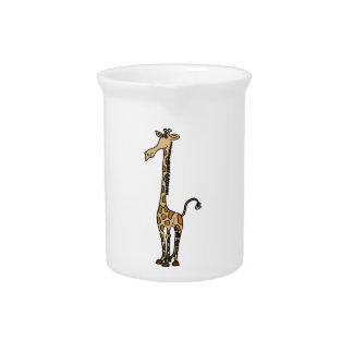 CF- Cute Giraffe Pitcher