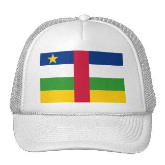 CF de la bandera de la República Centroafricana Gorros Bordados