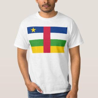 CF de la bandera de la República Centroafricana Remeras