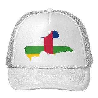 CF del mapa de la bandera de la República Gorras