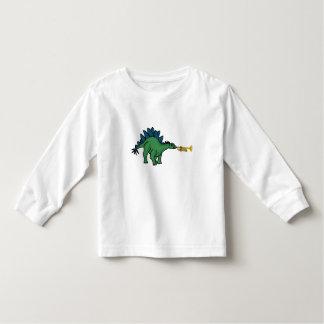 CF- Stegosaurus Playing Trumpet Shirt