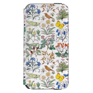 CFA Voysey Apothecary's Garden Pattern iPhone 6/6s Wallet Case
