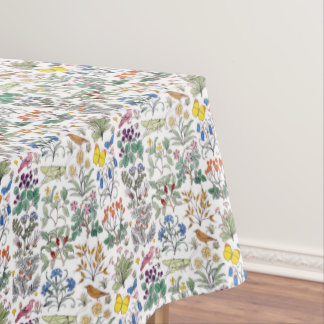 CFA Voysey Apothecary's Garden Pattern Tablecloth