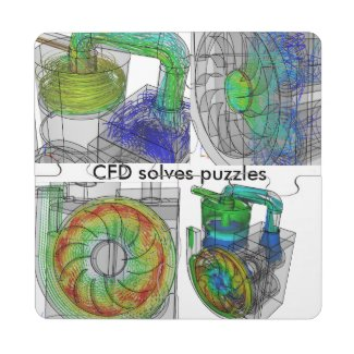 CFD Puzzle Coaster