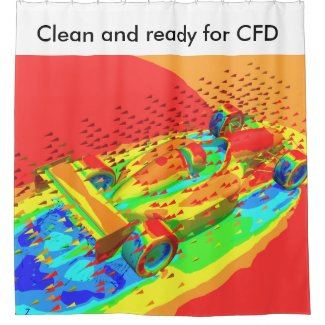 CFD Shower Curtain