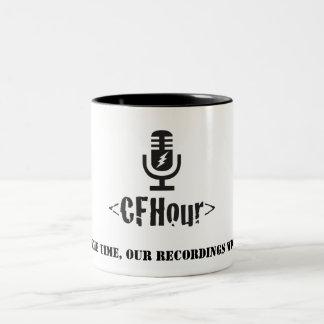CFHour Mug w/ tagline