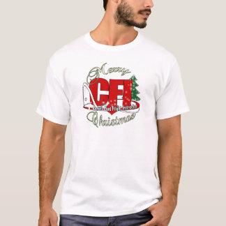 CFI CHRISTMAS Certificated Flight Instructor T-Shirt