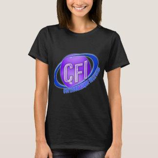 CFI ORB SWOOSH LOGO CERTIFIED FLIGHT INSTRUCTOR T-Shirt
