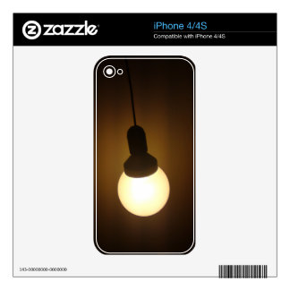 CFL bulb cases Skins For iPhone 4