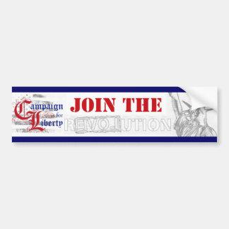 CFL (Join the R3VOLution) Bumper Sticker