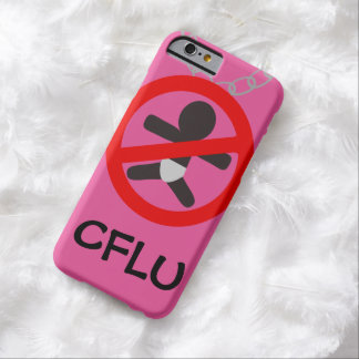 CFLU Logo iPhone 6/6s Barely There Case