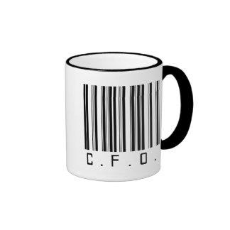 CFO Bar Code Ringer Coffee Mug