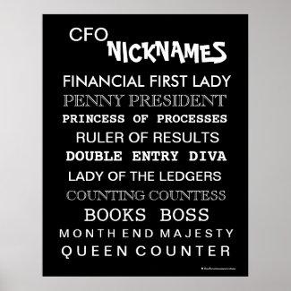 CFO gift female funny