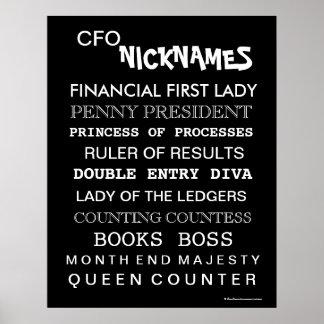 CFO Nicknames (female) Poster