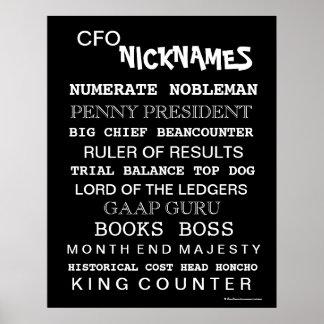 CFO Nicknames (male) Poster