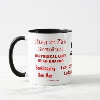Funny CFO Nicknames mug