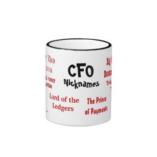 CFO Nicknames Ringer Mug