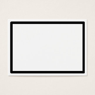 CFR- black corder business cards