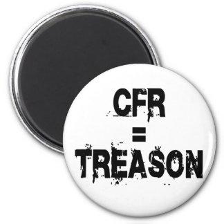 CFR = Treason 2 Inch Round Magnet