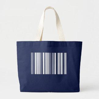 Cfreate sus propias 5 letras blancas bolsa tela grande