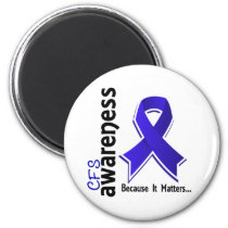 CFS Awareness 5 Chronic Fatigue Syndrome Magnet